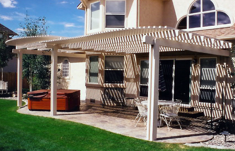 Patio Covers That Make A Back Yard Beautiful
